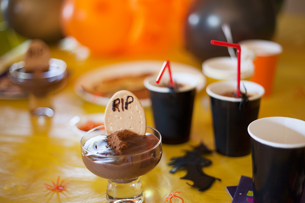 halloween afternoon tea