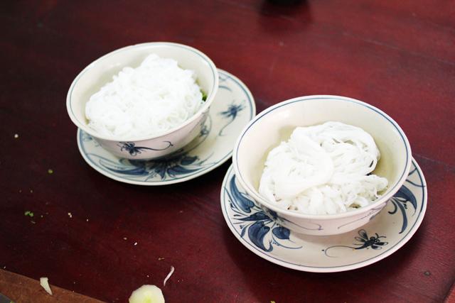 Vietnamese fresh rice noodles