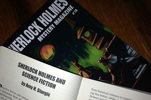 Sherlock Holmes Mystery Magazine #10 (October 2013)