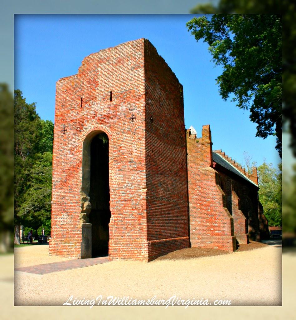 Jamestown Island Church Tower