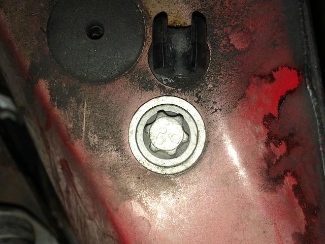 Torx bolt