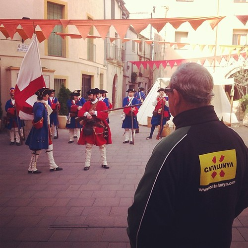 Miquelets de #Catalunya @catexperience #SantQuintí #matadegolla #tricentenari #1714 #Penedès #Penedesfera