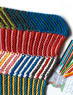 Color by Number Stash-Busting Blanket