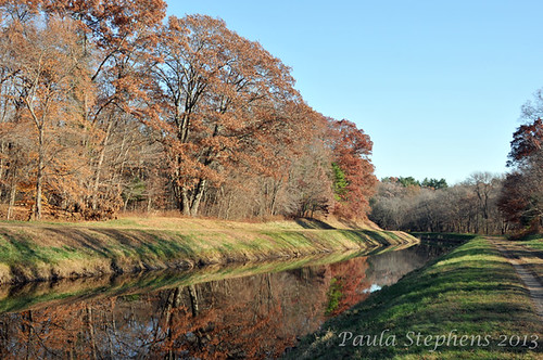 Ipswich River Canal by Paula Stephens