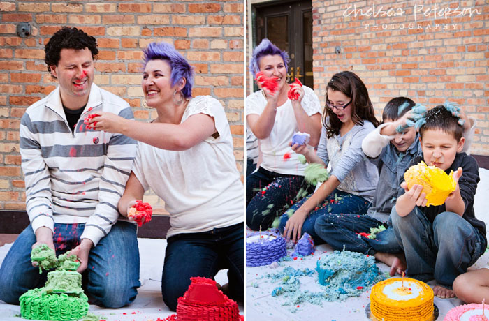 family-photography-smash-cake-session-face