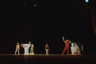 Dance performance at Bumbershoot, 1974
