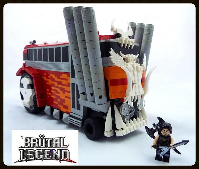 Brutal Legend Tour Bus