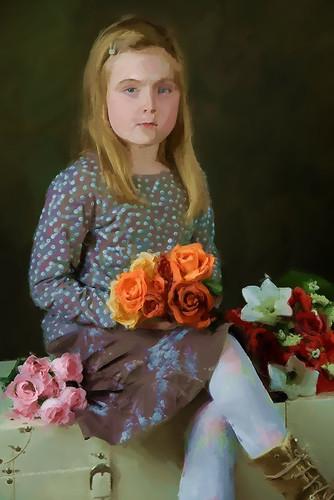 Mary Cassatt inspired