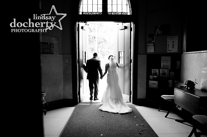 Philadelphia wedding photography at Morris Arboretum