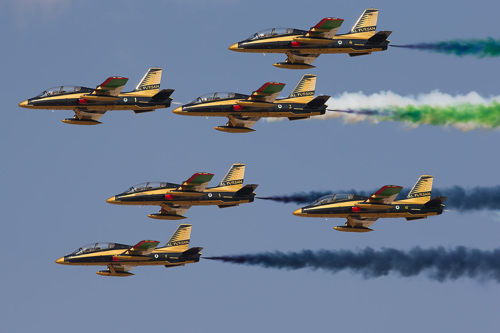 Al Fursan at Dubai Air Show 2013