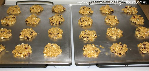 White chocolate cranberry cookie recipe