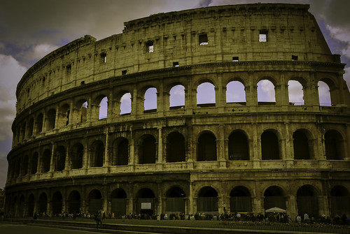 Yellow Colosseum