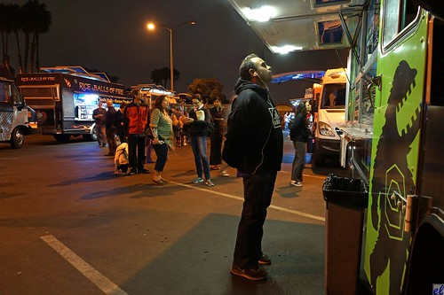 Body Language #1 (Marina del Rey food trucks)