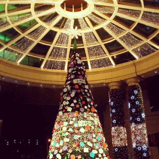 #huge #christmastree in #u-plex #부천