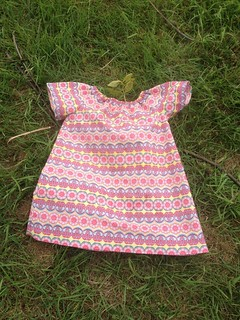 Polly Peasant Dress