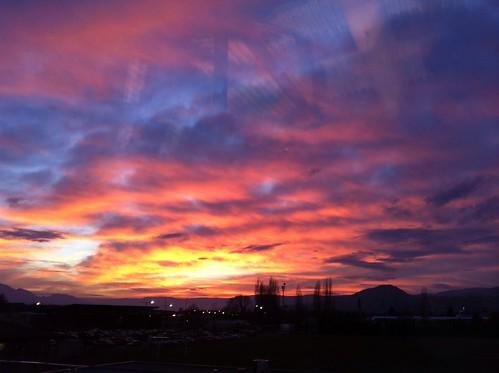 winter glass sunrise using through iphone kelownaseniorsecondary