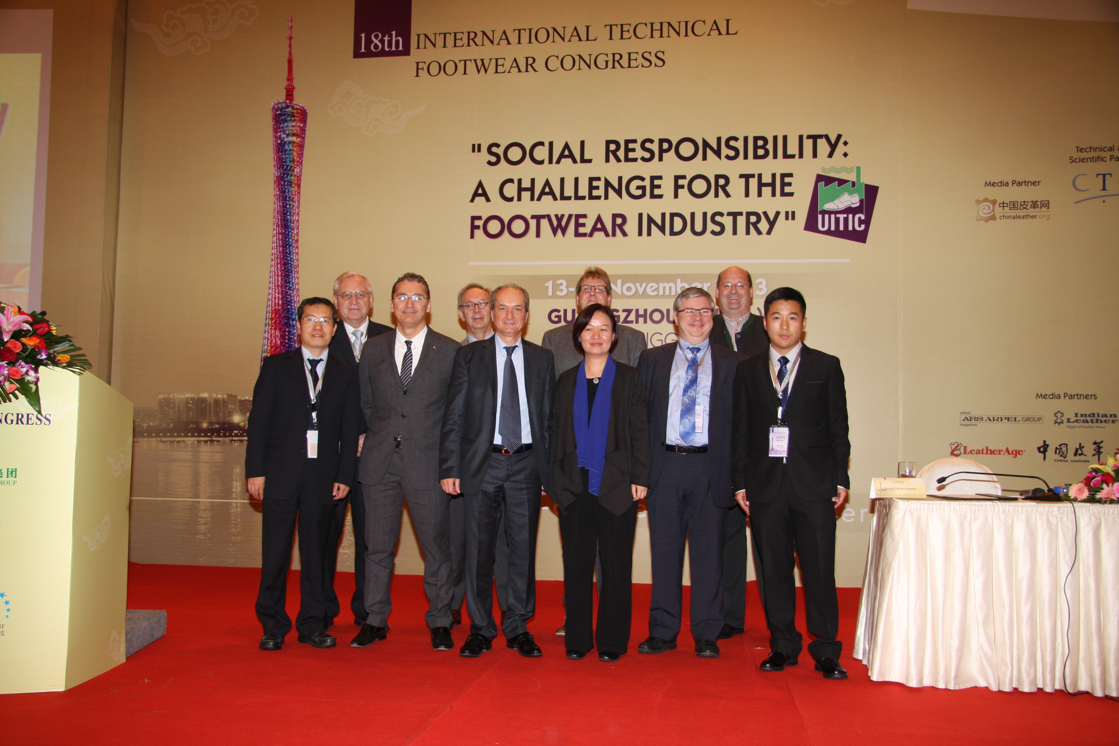 S účastníky 18. kongresu UITIC v Číně