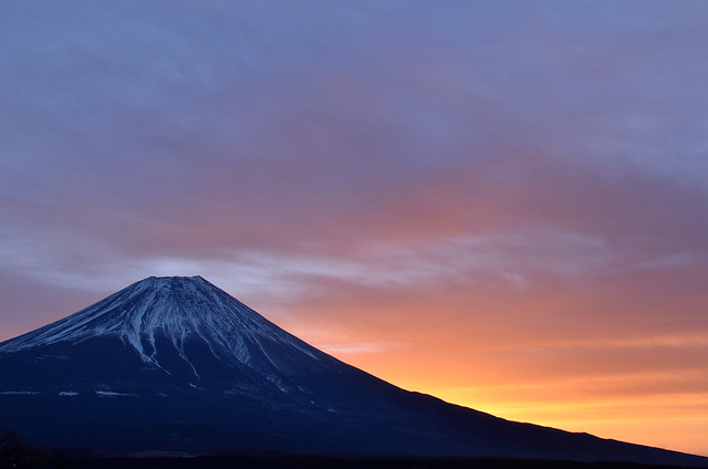 mika - Before sunrise at Mt.Fuji