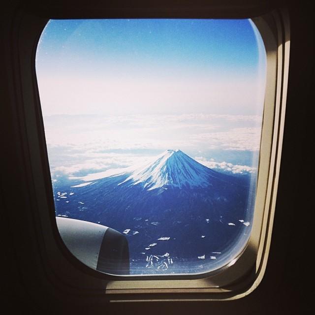 Iphonagraphy- Tokyo to Hiroshima flight