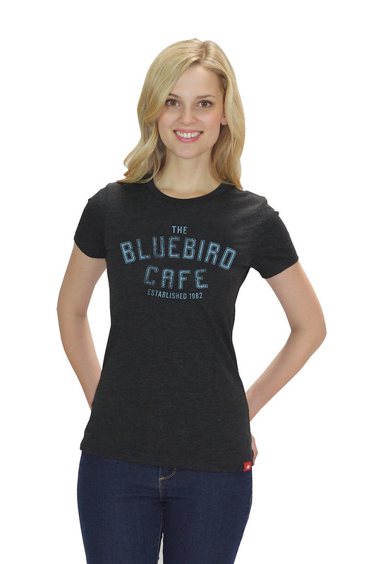 Womens Bluebird Cafe Nashville Logo T-Shirt