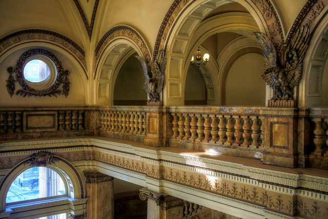 Up with the eagles - Milwaukee Public Library