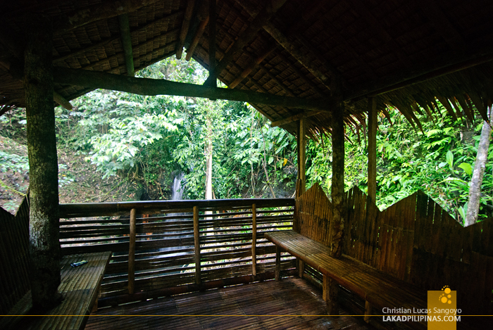 Bamboo Hut Overlooking Kalikasan Waterfalls in Camp Peralta, Capiz