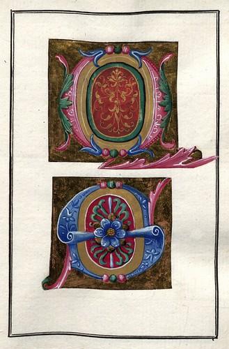 001-Álbum de las iníciales medievales - Pag 0009- Biblioteca Nacional de Polonia