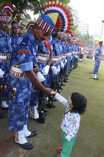 Jai Ho ,,Nerjis Thanks Our Armed Forces ,,,   65 Republic Day Bandra Bandstand  26 January 2014 by firoze shakir photographerno1