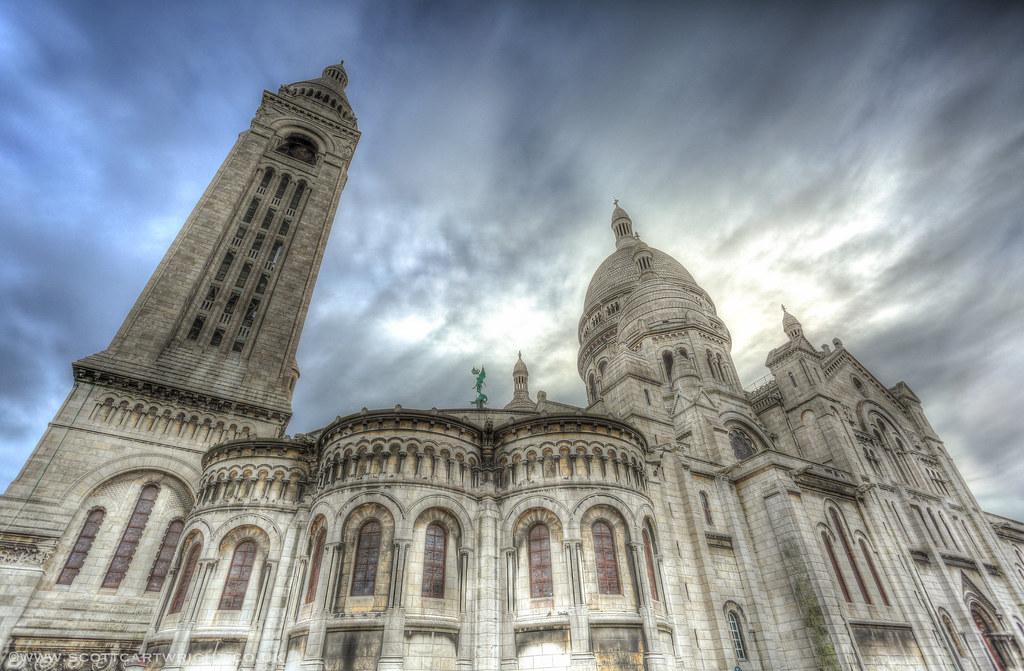 Sacred Heart Basilica of Montmartre (Sacre-Coeur)