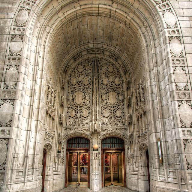 Chicago Tribune Doors (2008)