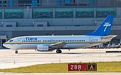 "Tiara Air, P4-TIE, 1988 Boeing B737-322, msn 24249, ln 1638, ""Arawak"""