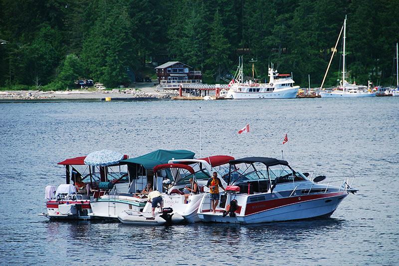 Rebecca Spit Park, Quadra Island, Discovery Islands, British Columbia, Canada