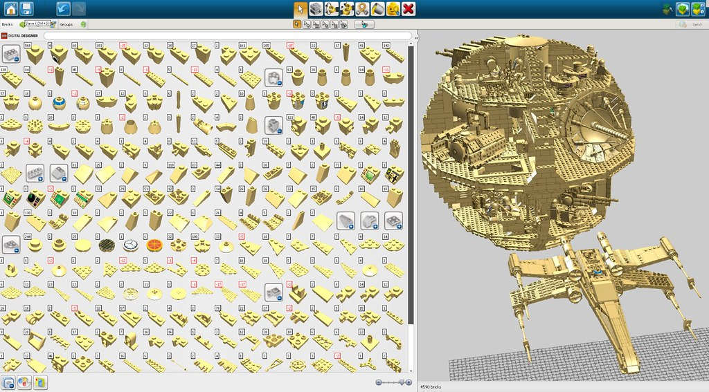 Ldd user palettes to check personal real brick for Lego digital designer templates