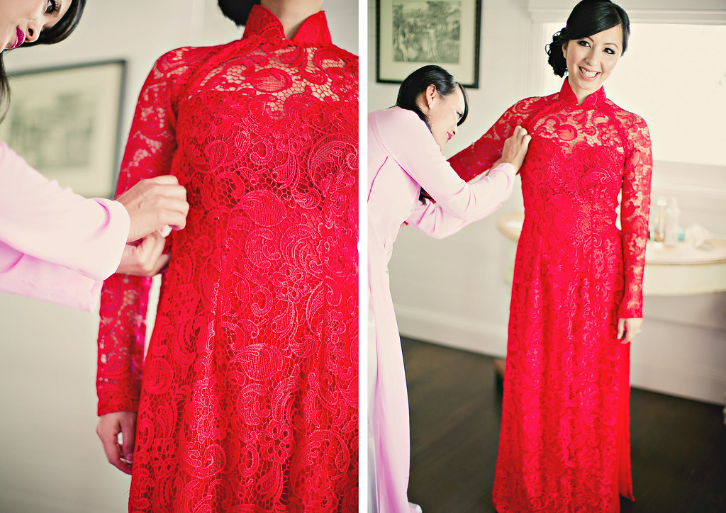 Blue Wedding Ao Dai A few minutes drive down the