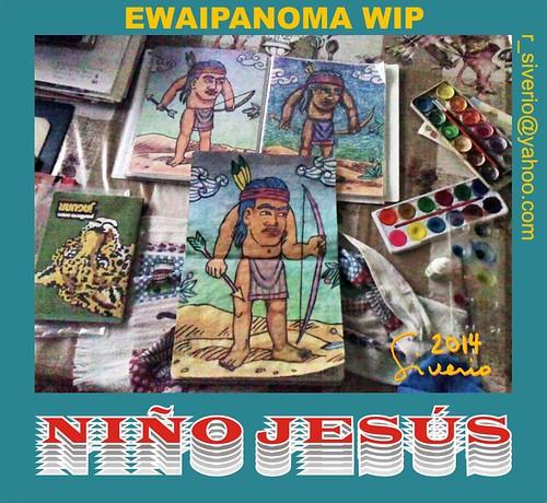 Ewaipanoma WIP by Niño Jesús