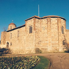 #Colchester Castle, yesterday.