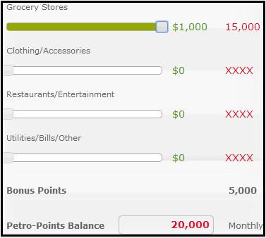 Spend 1000 Grocery Petro