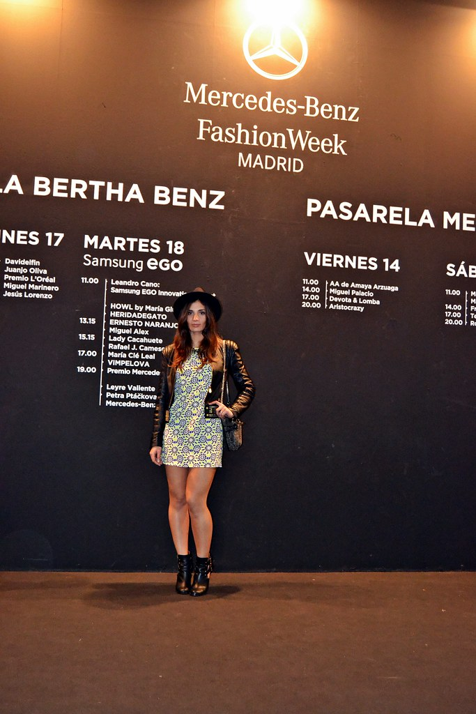 Segundo Look para Mercedes-Benz Fashion Week Madrid 2014