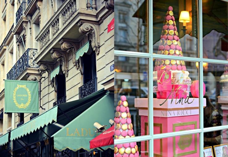 Collage Paris stroll 4