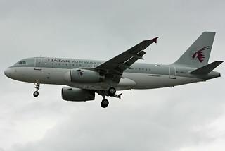 Qatar Airways A319 A7-HHJ