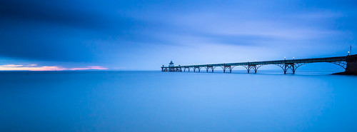 uk sunset sea england water coast europe unitedkingdom britain tide somerset severn coastal clevedon clevedonpier