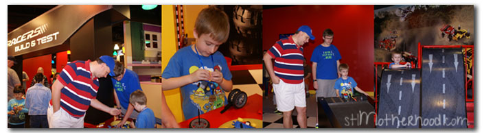 legoland kc race car build