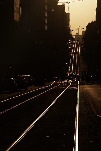 Sunset on La Trobe Street