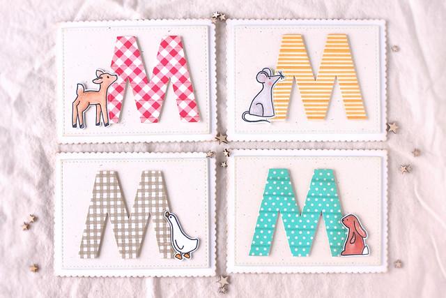 washi monograms