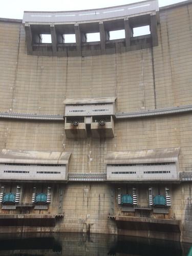 放水口が上中下 3箇所