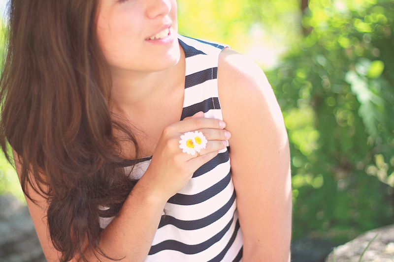 Flowers and stripes | Miss Ecl