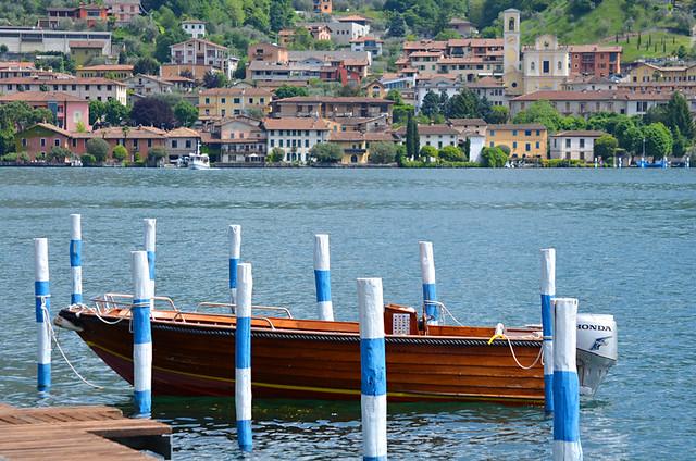 Boat, Peschiera Maraglio, Monte Isola, Lake Iseo, Italy