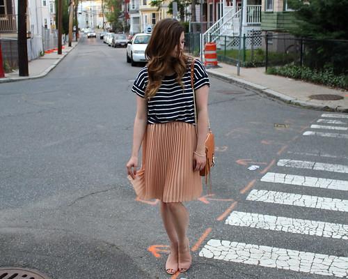 peach skirt 3