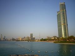 Nation Towers and St. Regis beach, Abu Dhabi