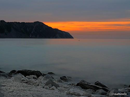 landscape mare olympus notturno fotonotturna